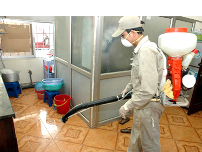 Diệt muỗi tận gốc - vệ sinh công nghiệp hà nội