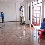 Dịch vụ vệ sinh trường học – vệ sinh công nghiệp hà nội