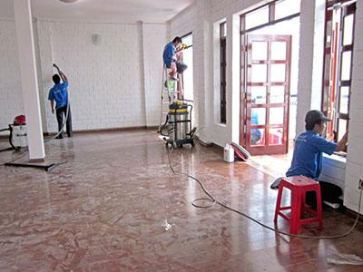 dịch vụ vệ sinh trường học - vệ sinh công nghiệp hà nội