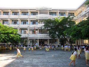 vệ sinh trường học