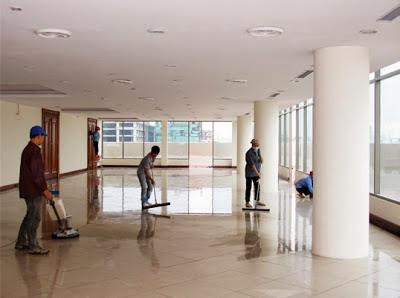 dịch vụ chà sàn - vệ sinh công nghiệp hà nội